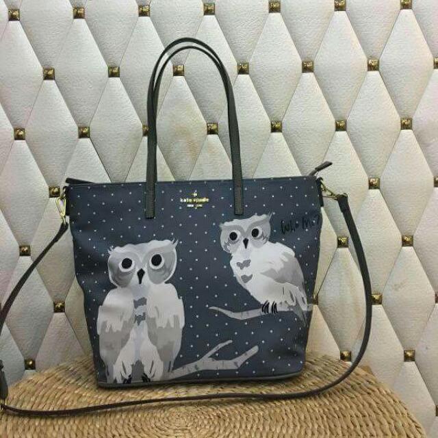 Kate Spade Owl Tote Bag