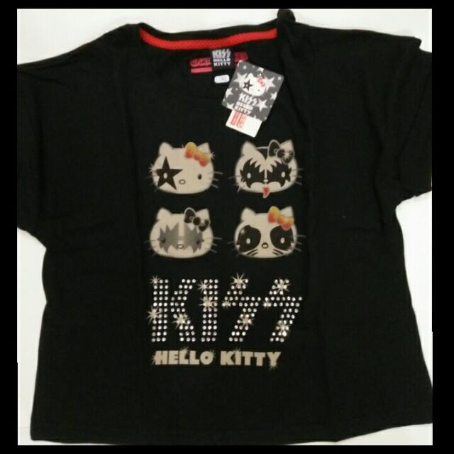 Kiss-Hello Kitty Gems Tshirt