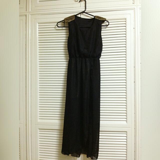 Korean Dress With Slit