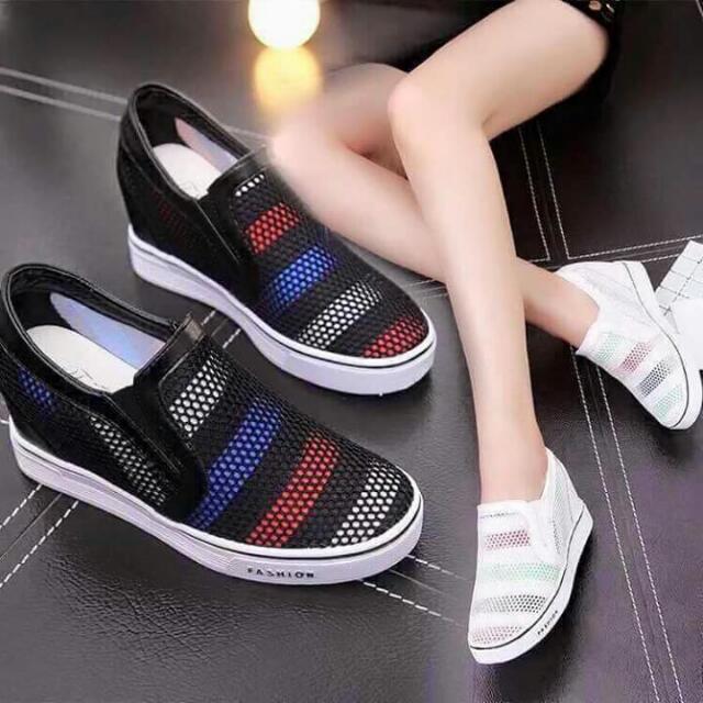 Korean Hidden Wedge Shoes