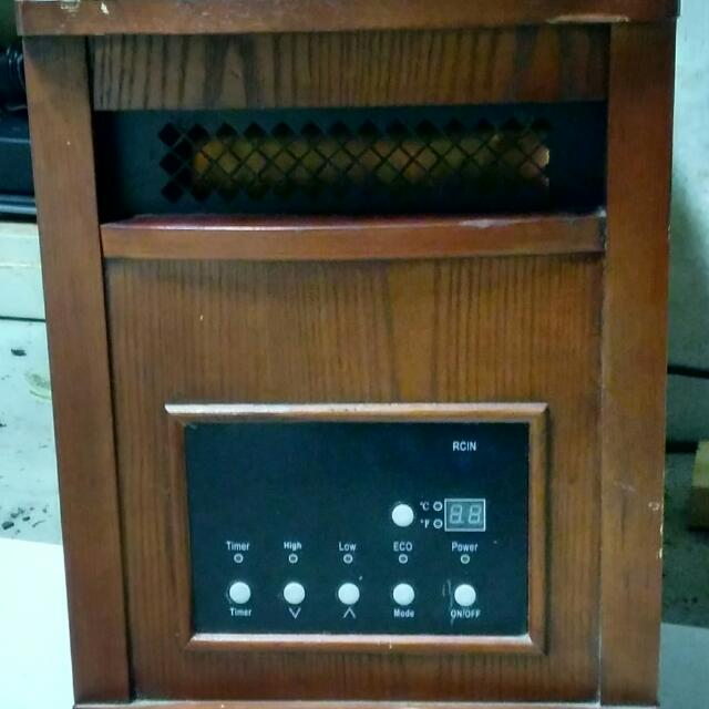 Life Smart 1500w Infrared Heater