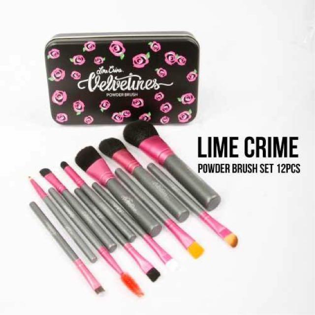Lime Crime Brush Set
