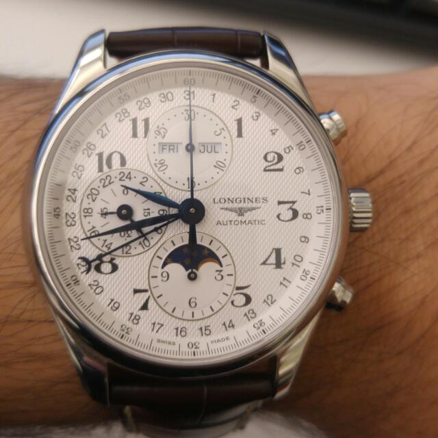 Longines Master Collection Moonphase 40mm