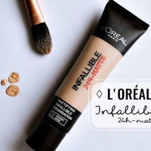 L'Oréal Paris Infallible 24hr Mattifying Foundation Radiant Beige