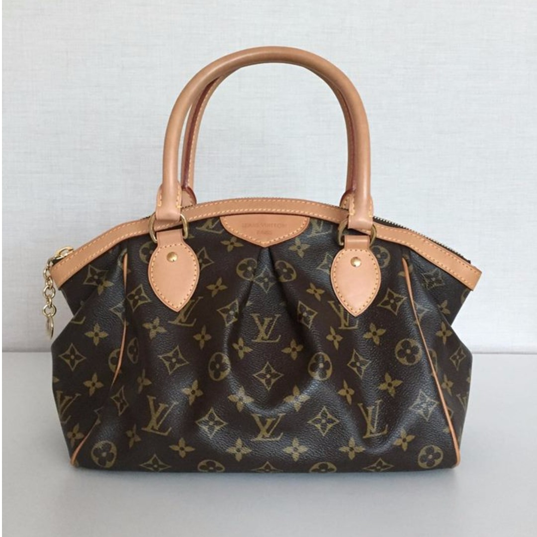 LOUIS VUITTON M40143 TIVOLI PM MONOGRAM CANVAS HAND BAG 18e6f1dec64b3
