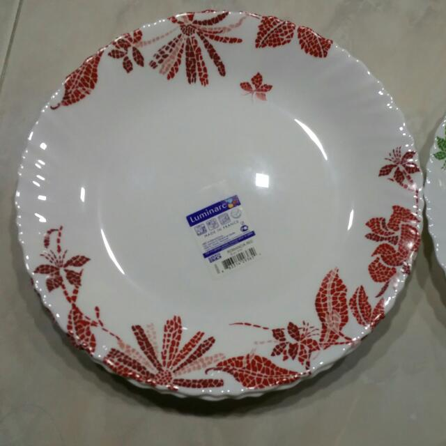 photo photo ... & Luminarc Dinner Plates Home Appliances on Carousell