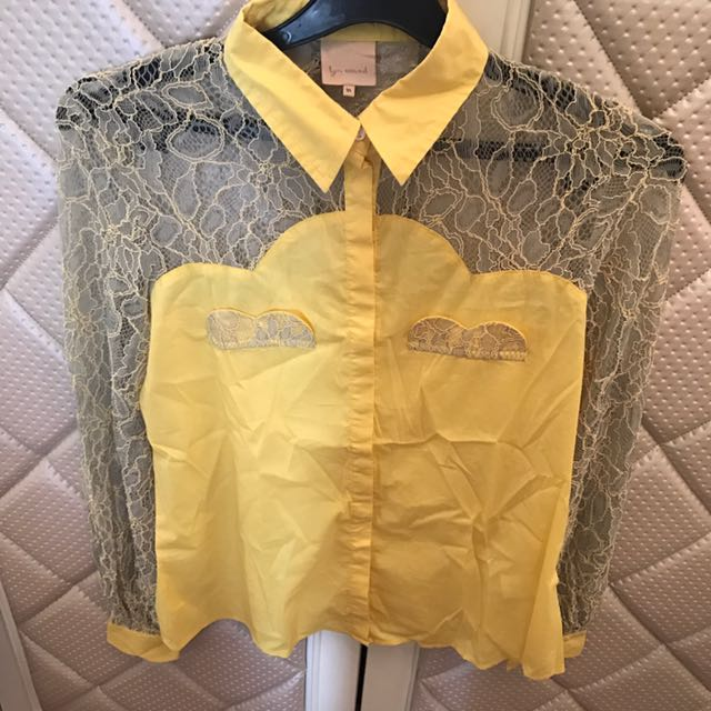 Lyn Around (thai Designer) Lace Shirt