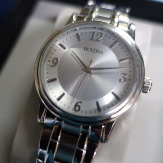 Men's Bulova Stainless Steel Watch