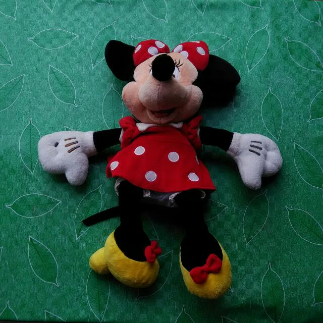 Minnie Mouse Medium Size Doll From Japan