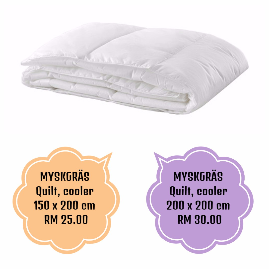 MYSKGRÄS Quilt, cooler