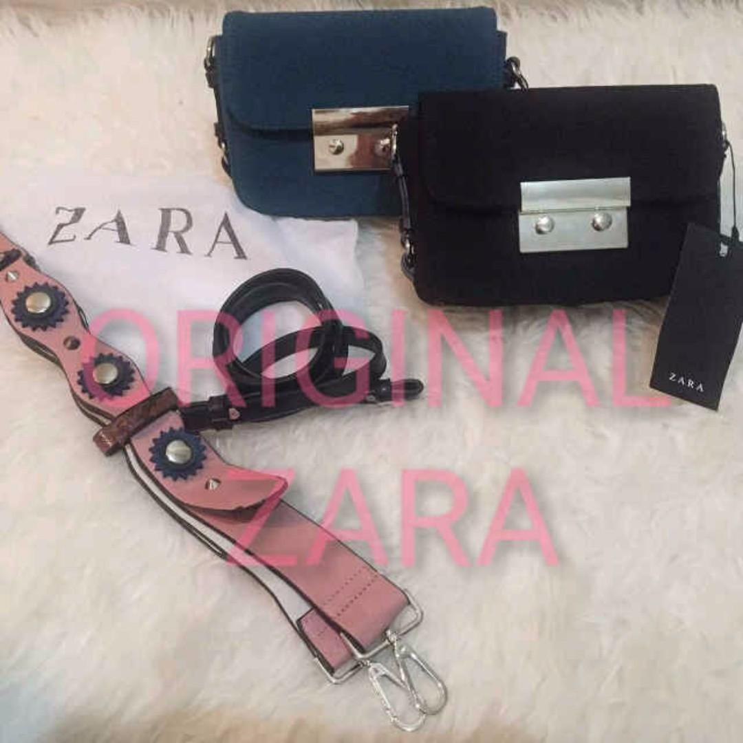 Original Zara Double Lock Authentic