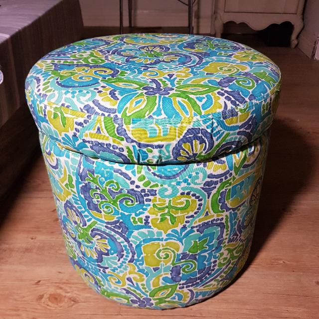 Ottoman With Storage Compartment