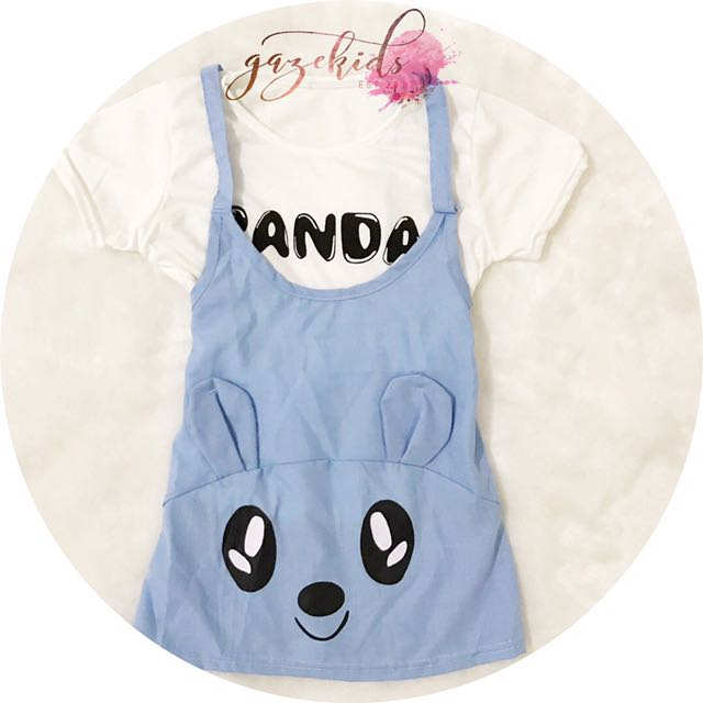 Panda Blus Set •Barang Jualan•