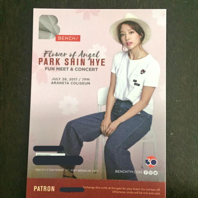 Park Shin Hye: Fun Meet & Concert