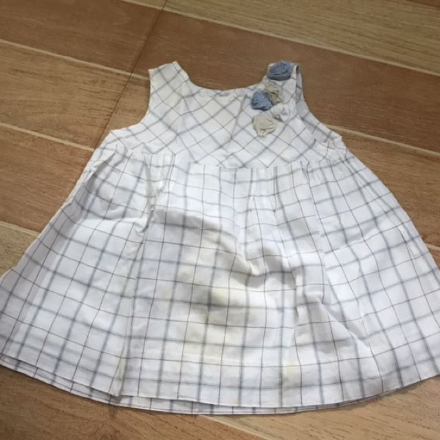 Periwinkle Infant Dress (3 Mos)