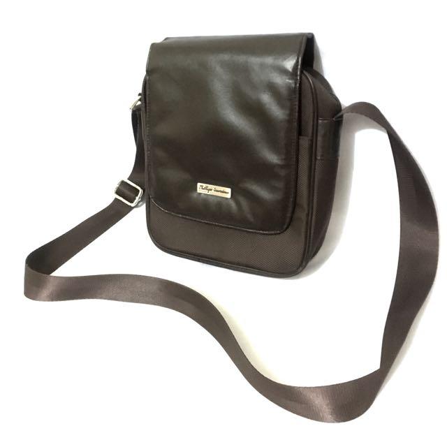 Phillipe Jourdan Farley Men Crossbody Bag - Brown