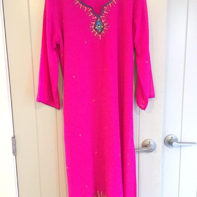 Pink Indian Dress