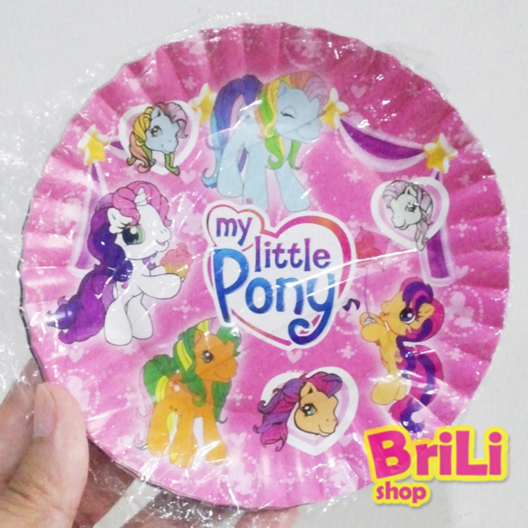 Piring Kertas Ulang Tahun My Little Pony Piring Kue