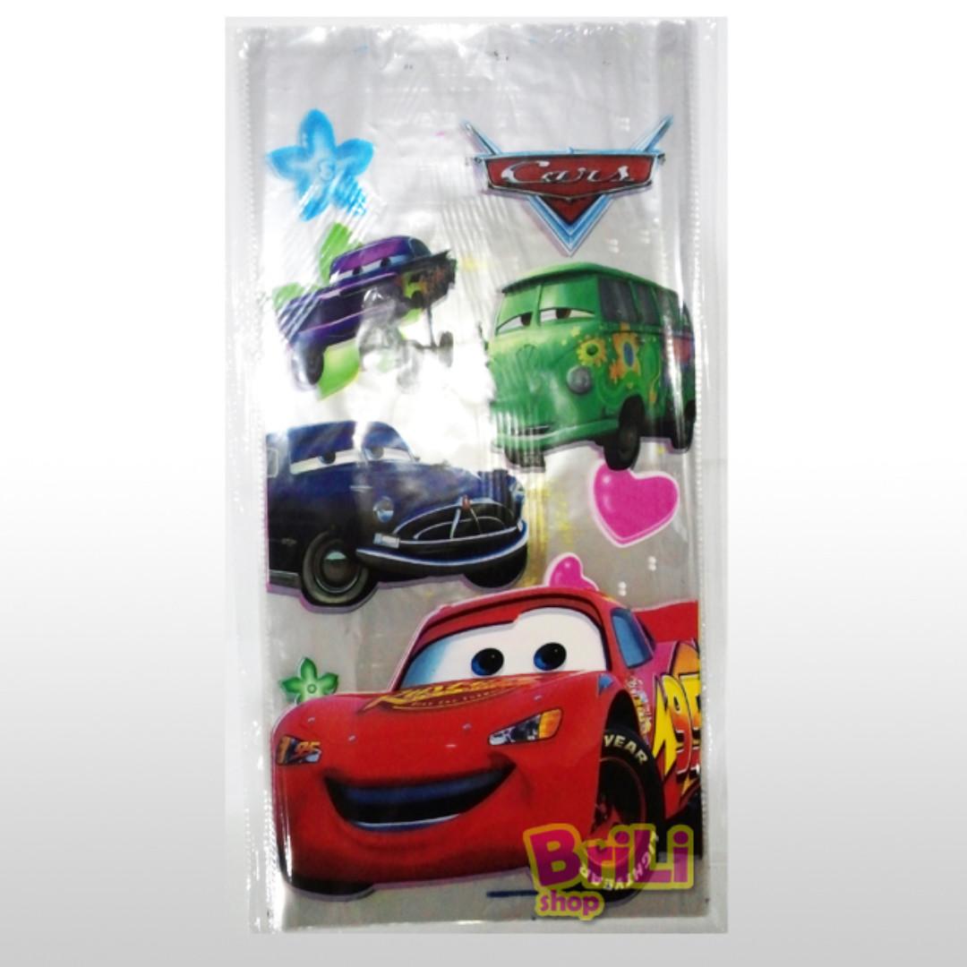 Plastik Snack Cars | Souvenir Ultah | Goodie Bag | Ulang Tahun