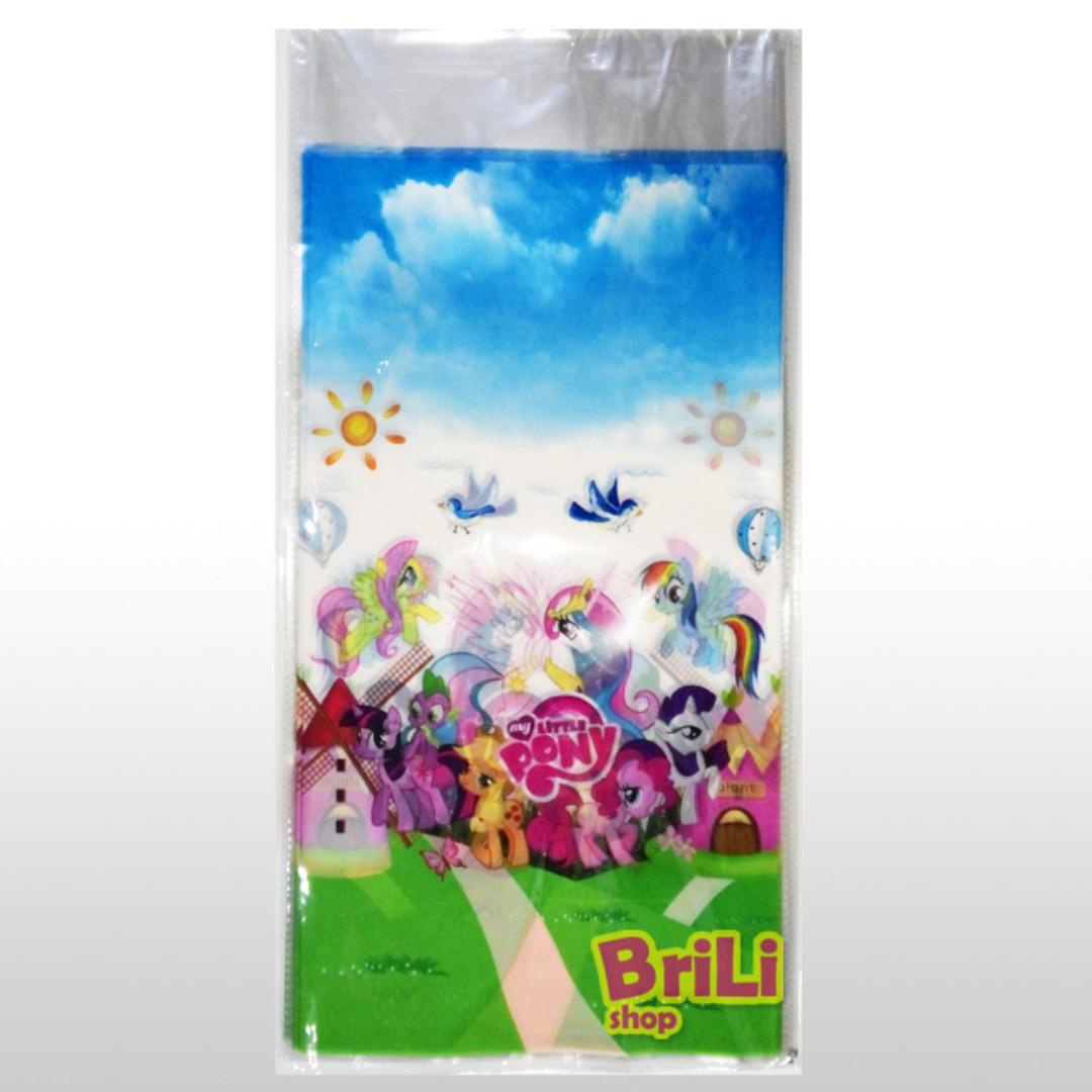 Plastik Snack My Little Pony | Plastik Souvenir Ultah | Goodie Bag