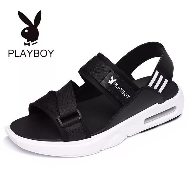 Playboy潮流氣墊涼鞋