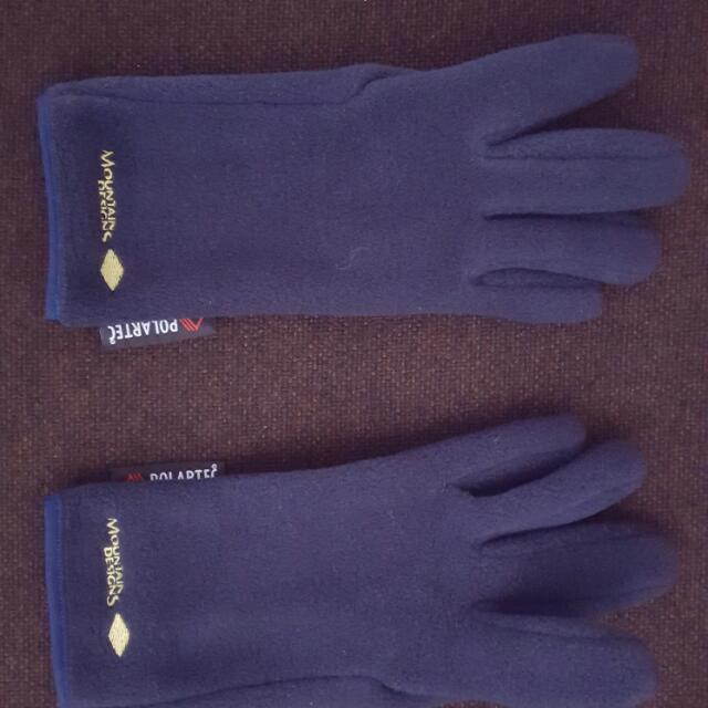 Polartec Fleece Snow Gloves