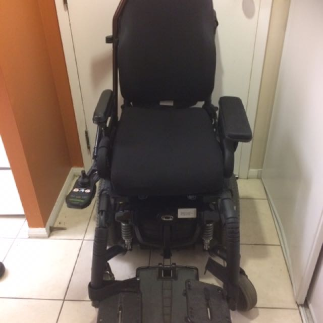 Powder Wheelchair