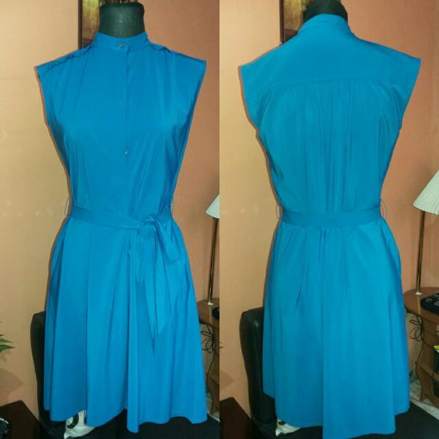 ⭐SALE⭐Preloved Blue Picnic Dress