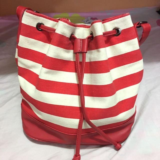 Preloved Grab Bucket Bag