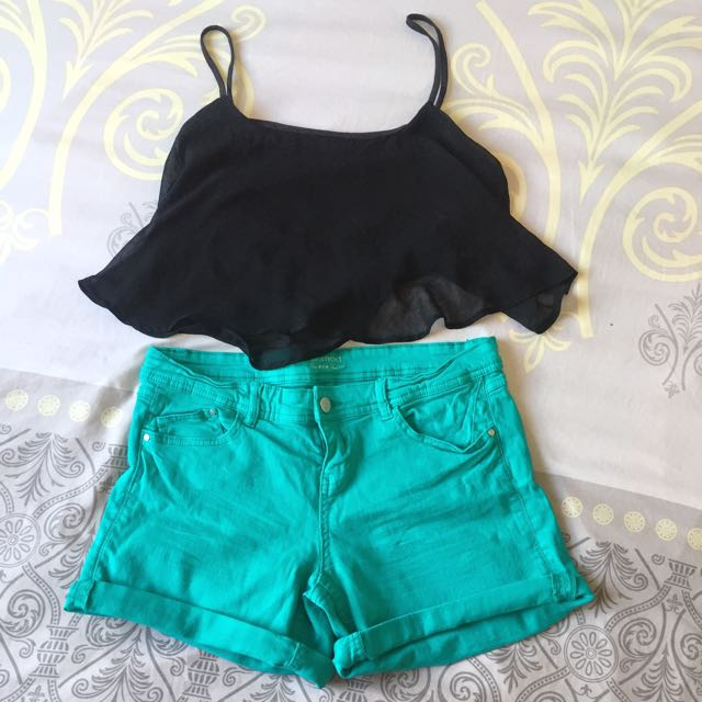 Promod Bluegreen Shorts