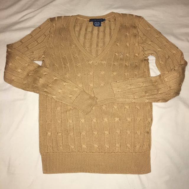 Ralph Lauren Cable Knit S