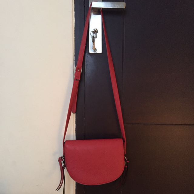 Red Stradivarius Bag