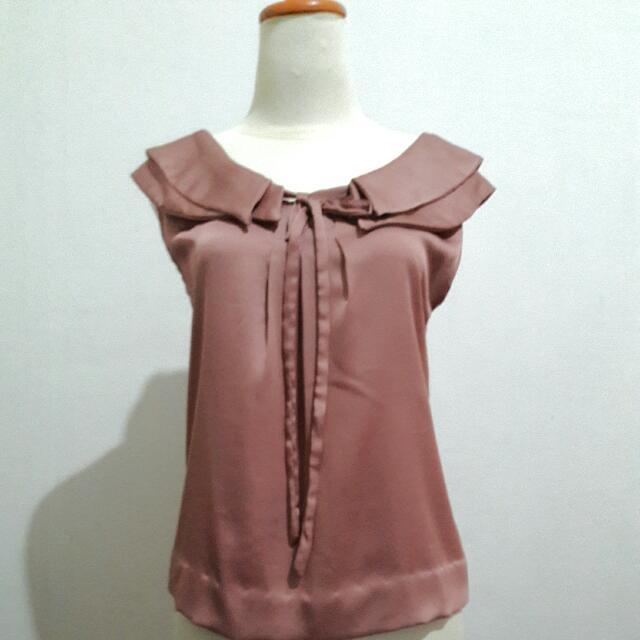 Sailor Collar Dusty Pink Top