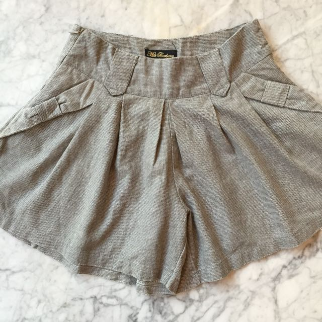 Short Pants In Grey