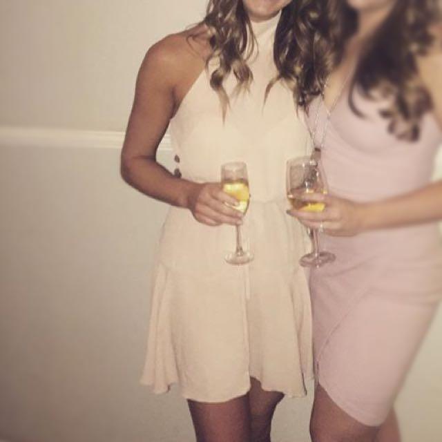 Size 6-8 Light Pink Dress