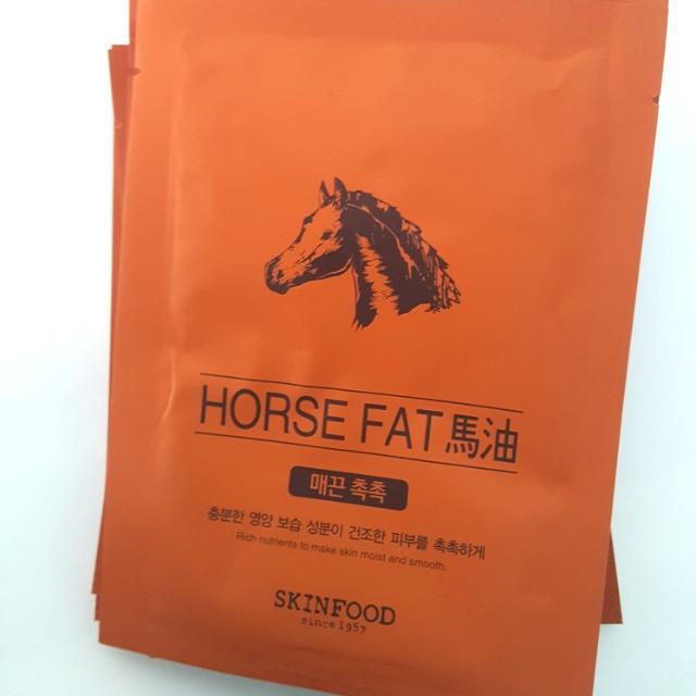 SKINFOOD  Horse Fat Masker