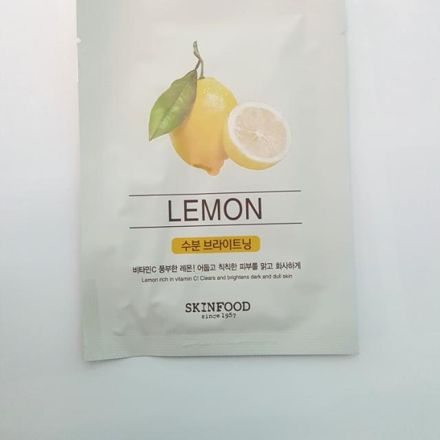 SKINFOOD  Lemon Maskee