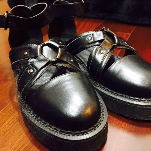 Slightly 厚底 涼鞋