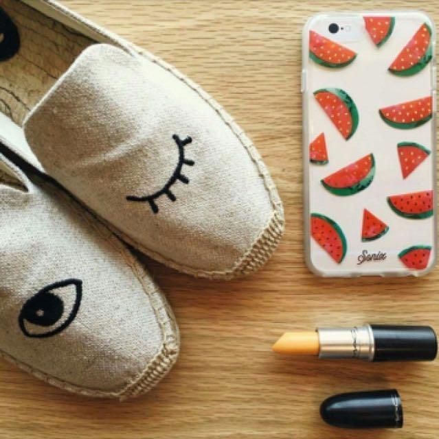 美國品牌Soludos眨眼草編鞋,休閒鞋,網美愛用