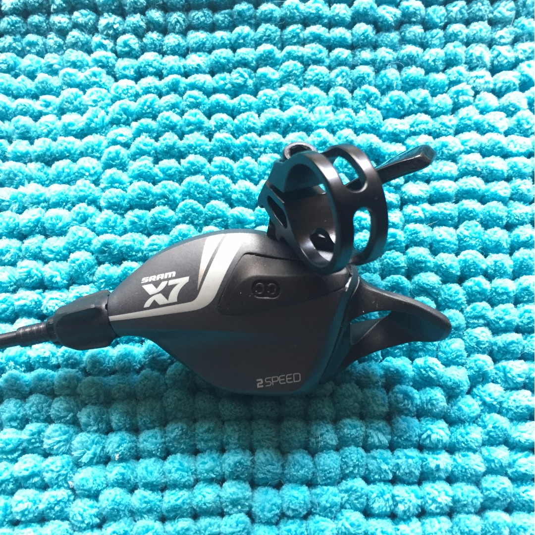 SRAM X7 Front Trigger, Adjustable Clamp