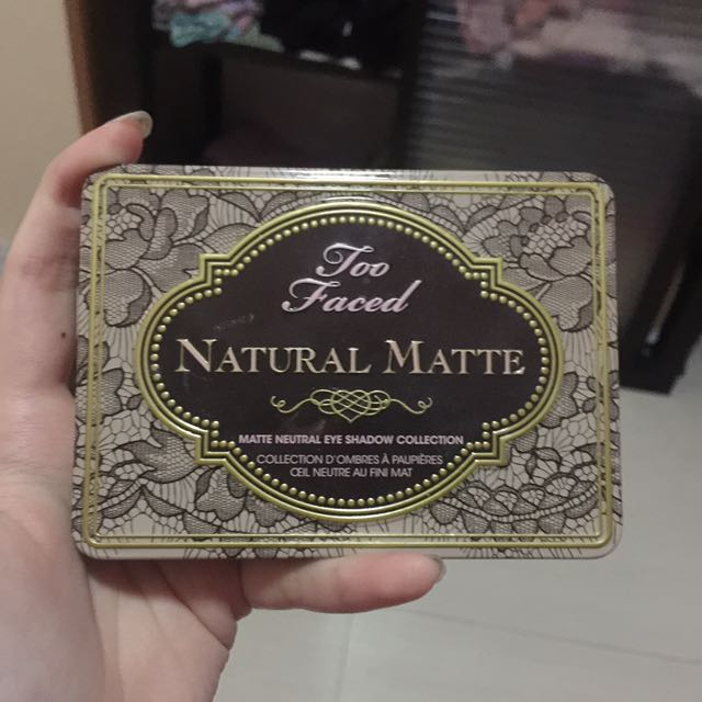 TOO FACED NATURAL MATTE PALLETE