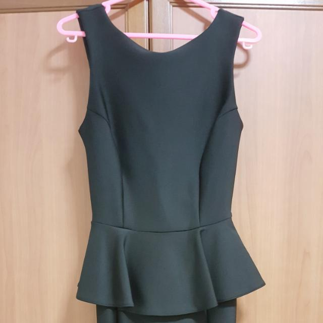 Top Shop Peplum Dress Womens Fashion Clothes Dresses Skirts On