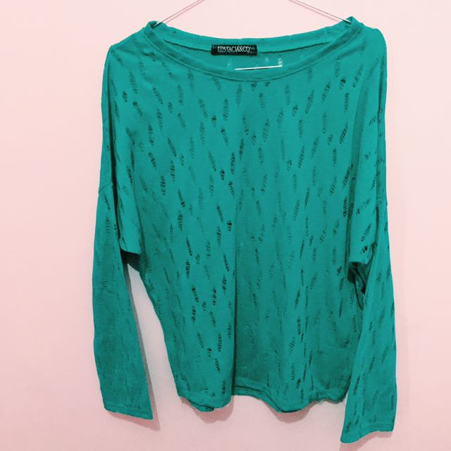 Tosca Ripped Long Sleeve By Eustacia&co