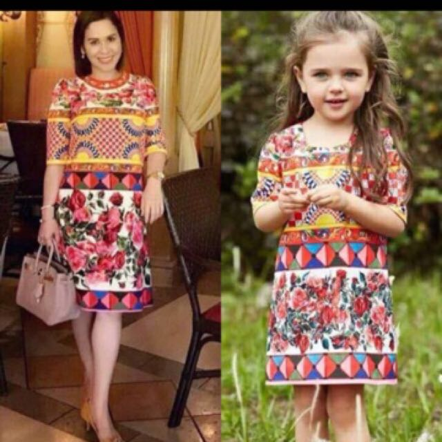 Twinnie Dress For Mother & Daughter
