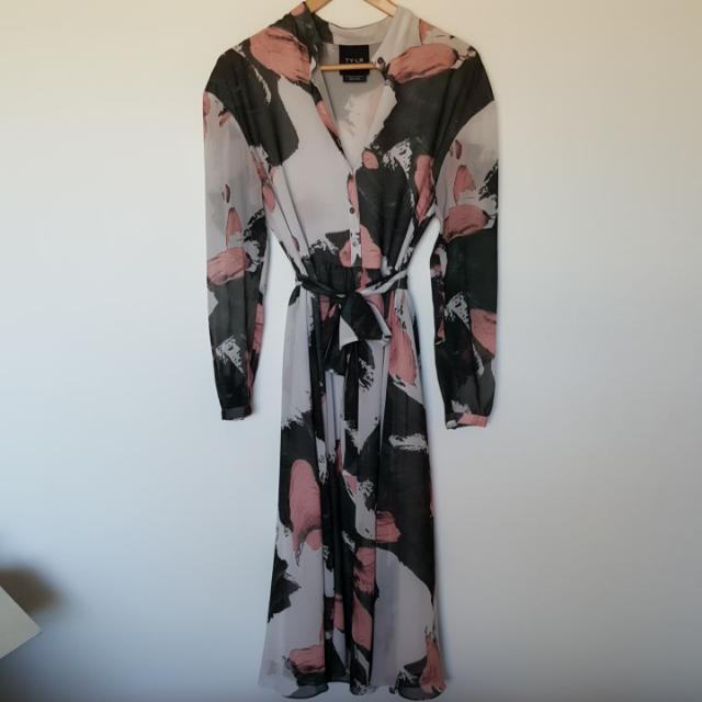 Ty-Lr Sheer Dress Australian Designer