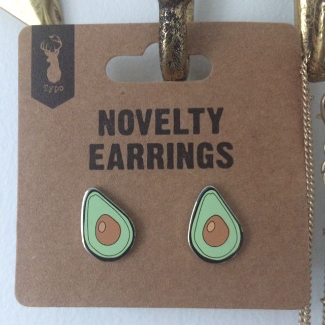 Typo Avocado Earrings