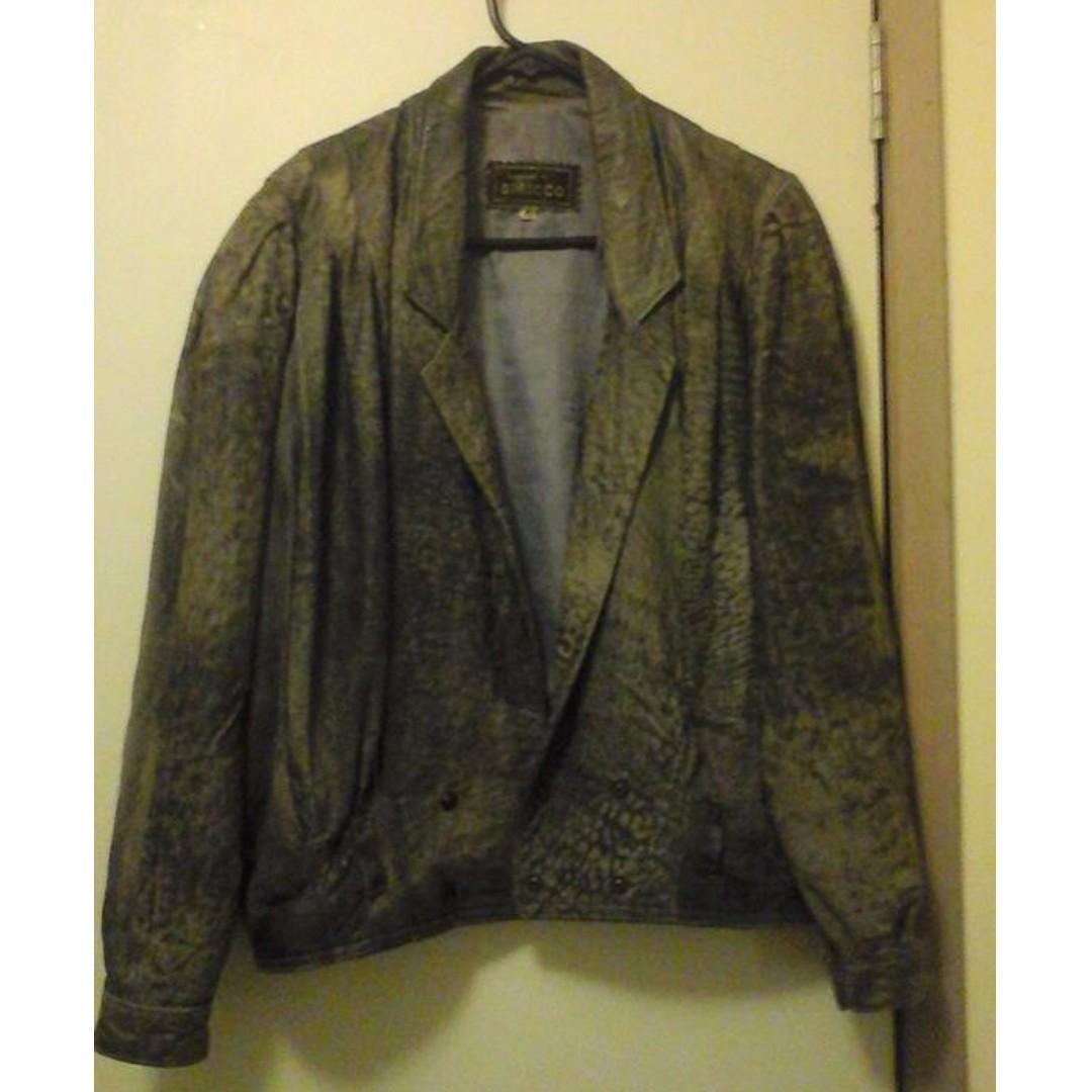Vintage Leather Jacket SIRICCO