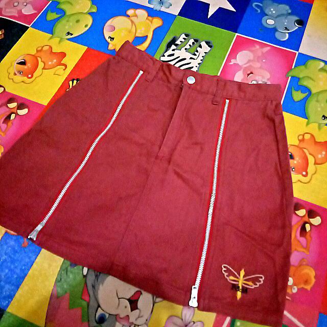 Vintage School Skirt