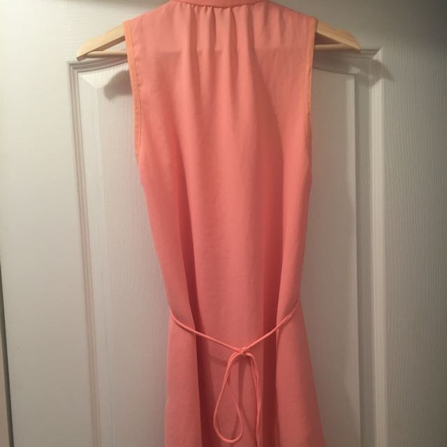 Wilfred Dress In Peach Color(size Xs)