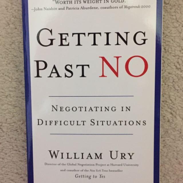 William Ury- Getting Past No